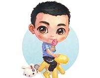 【Portrait customization NO.10】——小帅哥王考拉