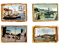 ŠIBENIK – Magnets as Souvenirs