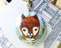 Handpainted Pendants/Charms