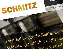 Schmitz Press Website Development