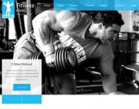 Fitness Club - Responsive Gym Fitness Template