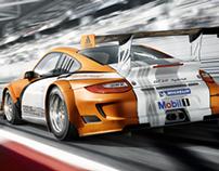 Porsche Motorsport cgi