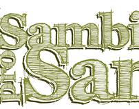 Logotipo // Sambinha pro Santo