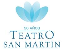 Propuesta Logotipo Concurso Teatro San Martín 50 Años