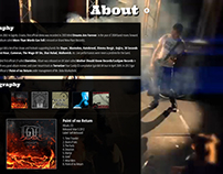 Website for a Band - Igut