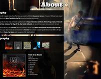 Website for a Band - Igut