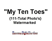 My Ten Toes Watermark Photos