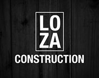 LOZA Construction Identity/Logo