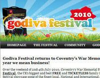 Godiva Festival 2010 - eNewsletter
