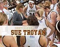 Head Women's Basketball Coach Sue Troyan