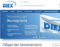 "Corporate site ""DIEX"""