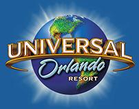 Web Design: Universal Orlando