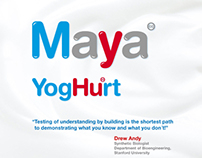Website for Art Project - Maya YogHurt