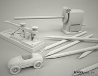 3D props- cinema 4d