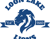 Loon Lake Lions Logo