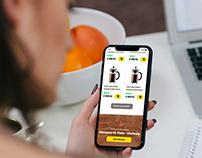 E-shop gourmetkava UX/UI