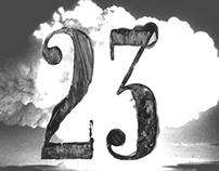 23 HUIS-CLOS free font