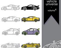 Vehicle universe Volume 4 free icon set