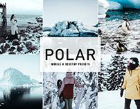 Free Polar Mobile & Desktop Lightroom Presets
