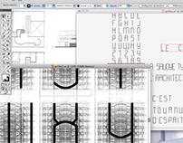 Savoye Sans : architecture of a display type.