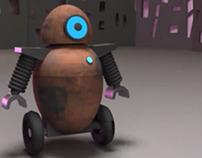 Robot en MAYA