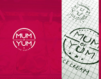 MUM OF YUM ICE CREAM - BRANDING