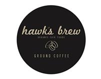 Hawk's Brew Coffee - Branding