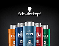 Special project for Schwarzkopf Men Deep Effect 3
