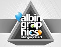 Diseño web personal, http://albingraphics.cl 2013