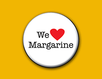We heart margarine campaign