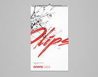 "Live calendar (Construction company ""Olips"")"