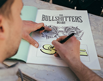 "SHANE exhibition ""The Bullshitters Diary"""