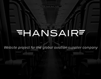 Hansair - website
