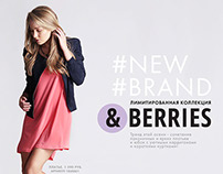 Design. Lookbook for &Berries. WB