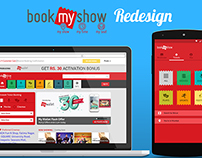 bookmyshow redesign