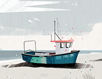 | fishing boat |