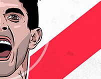 Christian Pulisic Illustration