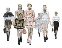 Dolce & Gabbana 2012~13 FW
