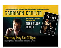 Garrison Keillor Event Materials