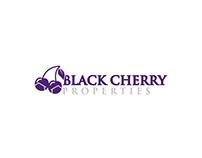 Black Cherry Properties Logo Design