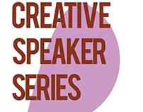 Creative Speaker Series Event Posters
