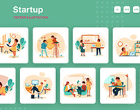 M167_Startup Illustration Pack