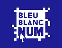Bleu Blanc Num - Identité visuelle
