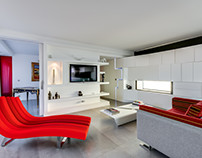 Penthouse in Paris by Manuel Sequeira Architecture