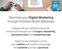 Optimise your Digital Marketing through emotion-driven