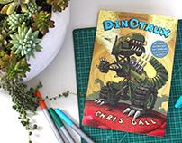 Dinotrux - adaptação de Letterings