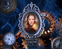 Propuesta publicitaria ALICE THROUGH THE LOOKING GLASS