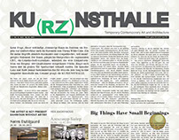 KUrzNSTHALLE Year in Review Exhibitions Catalog