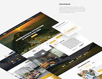 Landing page for «Tigra Trip» (2015)