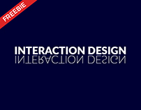Interaction Design – FREEBIES